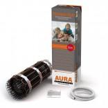 Мат для теплого пола AURA 0,5 м2 | двужильный / под плитку