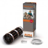 Мат для теплого пола AURA 2,5 м2 | двужильный / под плитку