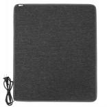 Теплый коврик с подогревом LIFEX WC 50х80 см | Серый