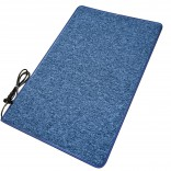 Электрический коврик с подогревом LIFEX WC 50х160 см | Синий