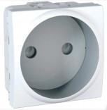 Schneider Electric Розетка (без заземления) 2 мод. Schneider Unica (MGU3.033.18) белый