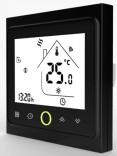 Сенсорный программатор для теплого пола Heat Plus BHT-002B черный