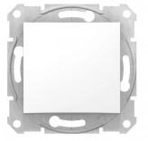 Выключатель промежуточный 1-клавиш. Schneider Sedna (SDN0500121) белый