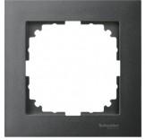Рамка для розетки 1-пост. M-PURE Schneider Merten (MTN4010-3614) антрацит