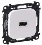 Розетка HDMI для аудио/видеоустройств Legrand Life 754715 белый