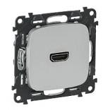 Розетка HDMI для аудио/видеоустройств Legrand Life 754717 алюминий