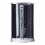 Душевой бокс Lidz TANI SB90x90.SAT.LOW.GR, низкий, стекло тонир. 4мм + стенки BLA (LTSB9090SATLOWGR)