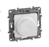 Светорегулятор поворотный 300 Вт Etika 672219 белый