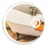 Q-tap Зеркало с антизапотиванием Q-tap Mideya LED 600х600 (QT2078F804W)