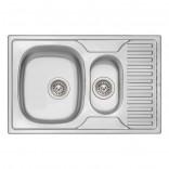 Мойка двойная Q-tap 7850-B Micro Decor (QT7850BMICDEC08)