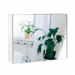 Q-tap Зеркальный шкаф подвесной 2 полки 800х600х145 WHITE Q-tap Scorpio (QT1477ZP801W)