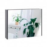 Q-tap Зеркальный шкаф подвесной 2 полки 800х600х145 GRAPHITE Q-tap Scorpio (QT1477ZP802G)