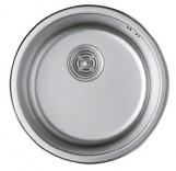 Haiba Мойка кухонная HAIBA 440 (satin) (HB0527)