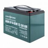 Тяговый свинцово-кислотный аккумулятор LP 6-DZM-50 Ah
