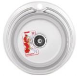 Мойка кухонная ZERIX Z510-06-180P (polish) (ZS0559)