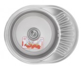 Мойка кухонная ZERIX Z5745-06-180MD (micro decor) (ZS0563)