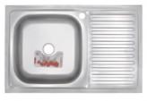 Мойка кухонная ZERIX Z8050L-08-180E (SATIN) (ZS0595)