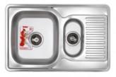 Мойка кухонная ZERIX Z7850A-08-180E Armonia (SATIN) (ZS0576)