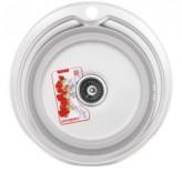 Мойка кухонная ZERIX Z510-08-180MD (micro decor) (ZS0561)