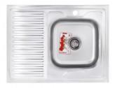 Мойка кухонная ZERIX Z8060R-08-180MD (MICRO DECOR) (ZS0610)