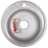 Мойка кухонная ZERIX Z490-06-180MD (MICRO DECOR) (ZS0557)