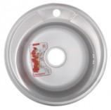 Мойка кухонная ZERIX Z490-08-180MD (MICRO DECOR) (ZS0558)