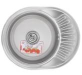 Мойка кухонная ZERIX Z5745-06-180E (satin) (ZX1590)