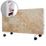 LIFEX Напольный керамический обогреватель LIFEX D.Floor 1000R (бежевый мрамор) с терморегулятором
