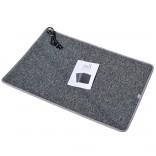 LIFEX Электрический коврик с подогревом LIFEX WC 100х150 см   Серый