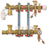 Коллектор водяного теплого пола Giacomini R557Y005 (5 контуров)