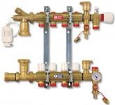Коллектор водяного теплого пола Giacomini R557Y008 (8 контуров)
