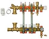 Коллектор водяного теплого пола Giacomini R557FY006 (6 контуров)