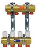 Сборный коллекторный узел Giacomini R553Y005 (5 контуров)