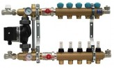 Коллектор в сборе для теплого пола KAN-Therm 7702A (2 контура)