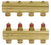 Коллектор для теплого пола Danfoss FHF-4 (4 контура)