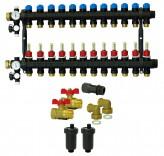 Коллектор для теплого пола ProCalida EF1-10 (10 контуров)