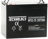 Аккумуляторная батарея Technology AGM NP 12-75
