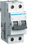 Автоматический выключатель Hager In=13А,2п,В,6kA (MB213A)