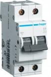 Автоматический выключатель Hager In=20А,2п,С,6kA (MC220A)