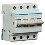 Автоматический выключатель Hager In=63А,4п,С,6kA (MC463A)