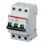 Автоматический выключатель ABB SH203-C63