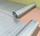 Алюминиевый мат Fenix AL MAT   Теплый пол под ламинат 3,0 м2