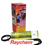 Raychem Нагревательный мат Raychem 1 м2 | Теплый пол под плитку T2 P-HM-P