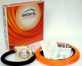 Тонкий кабель под плитку Woks-10, 100 Вт (11м) 0,7-1,3 м2