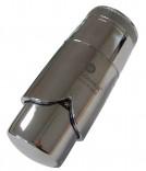 Термостатическая головка Schlosser Brillant Dz  (клипса) Хром (600500007)