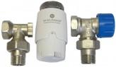 Угловой термостатический комплект Schlosser GZ1/2xGW1/2 (602200009)