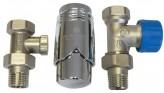 Прямой термостатический комплект Schlosser GZ1/2xGW1/2 (602200008)