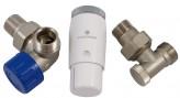 Осевой левый термостатический комплект Schlosser Standart Mini (602200036)