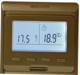 Heat Plus Программатор для теплого пола Heat Plus M6.716 gold