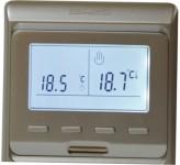 Heat Plus Программатор для теплого пола Heat Plus M6.716 silver